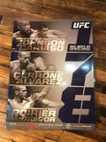 UFC 178 poster Conor McGregor vs. Poririer, Johnson vs.  Cariaso MGM
