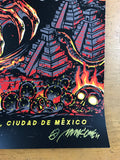 Metallica - 2017 Munk One poster Mexico City N1 S/N AP Foro Sol Arena