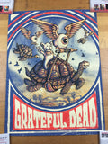 Promised Land Grateful Dead - 2018 Zeb Love Poster Art Print