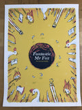 The Fantastic Mr Fox - Delicious Design League poster, Roald Dahl