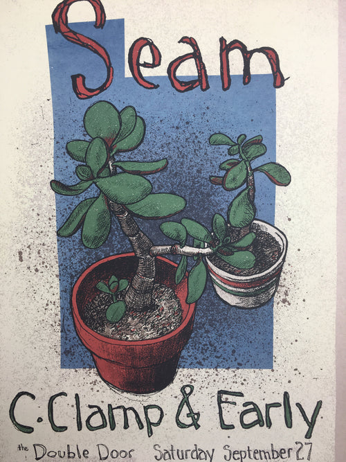 Seam - 1997 Jay Ryan poster Chicago, IL Double Door