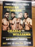 Boxing - Cuellar vs Mares, Charlo vs Williams, Anthony Joshua Poster Three World