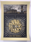 Dave Matthews Band - 2010 Methae poster Manchester, UK Apollo