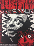 The Mars Volta - 2008 Todd Slater Poster Baltimore, MD Ram's Head Live