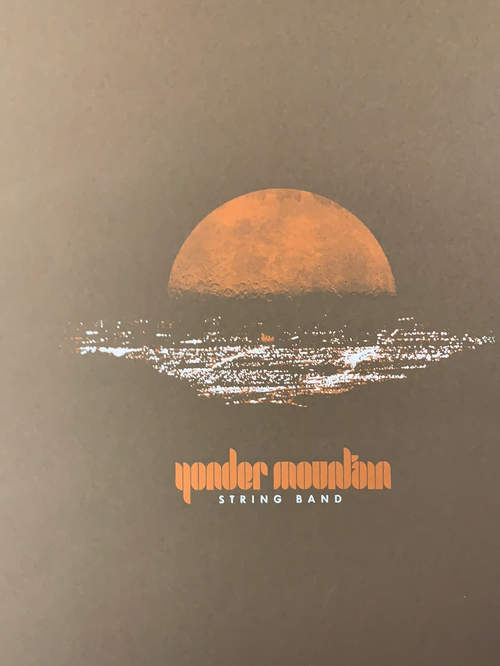 Yonder Mountain String Band - 2008 Table 2 Press poster Boulder, CO