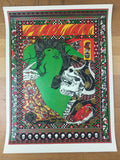 Pearl Jam - 2015 Brokenfingaz Poster New York, NY Central Park Great Lawn