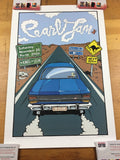 Pearl Jam - 2006 Daymon Greulich Poster Perth, AUS Subiaco Oval