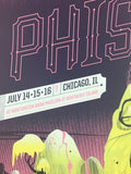 Phish - 2017 Delicious Design League poster Chicago, IL Northerly Island