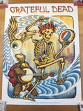 Grateful Dead, Here Comes Sunshine - 2018 Zeb Love Poster Art Print
