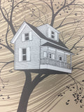 Tree House (Chicago series) - 2013 Justin Santora Poster Art Print