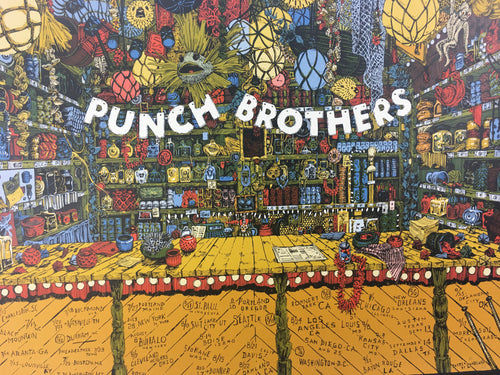 Punch Brothers - 2018 Landland Poster Tour