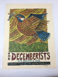 The Decemberists - 2011 Dan Grzeca Poster Kansas City, MO Uptown Theater