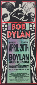 Bob Dylan - 1997 Mark Arminski Poster West Long Branch, NJ Monmouth University