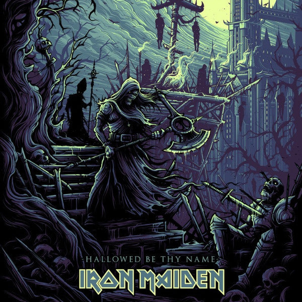 Iron Maiden - 2017 Dan Mumford poster hallowed be thy (they) name