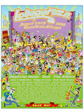 Lollapalooza - 2009 Billy Tokyo poster Chicago Grant Park, Limited Edition print