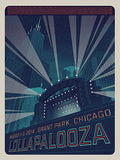 Lollapalooza - 2014 Tim Anderson poster numbered edition Chicago
