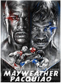 The Rematch Mayweather v Pacquiao - 2014 Robert Bruno Poster Money