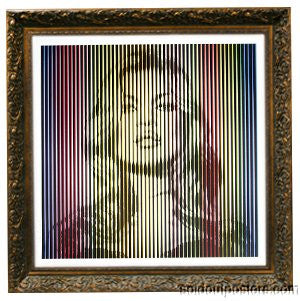 Fame Moss Kate Moss 2015 Mr. Brainwash poster print Bright Rainbow ed of 18 MBW
