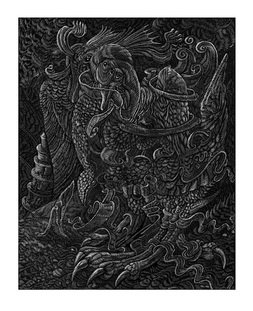 Multi-Bird Variant - 2020 David Welker poster, art print with COA