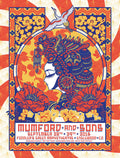 Mumford and & Sons - 2016 Derek Hatfield poster Fiddler's Green