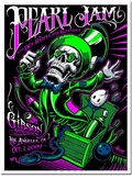 Pearl Jam - 2009 Maxx242 poster Los Angeles, CA, Gibson Amphitheatre