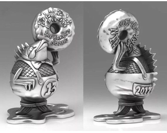 Phish - 2017 Jim Pollock pewter statue New York City Bakers Dozen