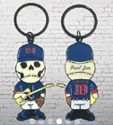 Pearl Jam - 2018 Home Away Shows Skully Keychain Chicago, IL Wrigley Field