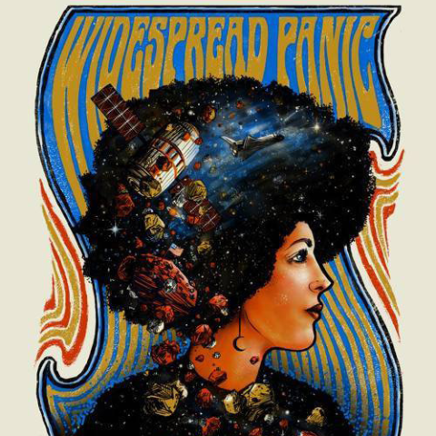 Widespread Panic - 2015 Zeb Love Poster