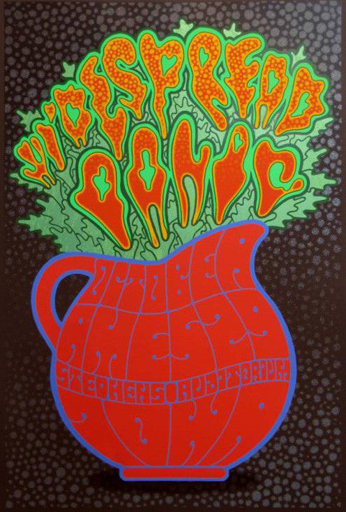 Widespread Panic - 2014 Chuck Sperry Poster Ames, IA Chocolate Ed