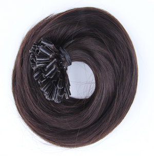 "U-tip Straight Remy Fusion Hair 100G 20"" (1 C) Mocha Brown"