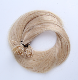 "U-tip Straight Remy Fusion Hair 100G 20"" (60) Ash Blonde"