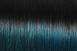 "Clip-in Remy Extensions 160G 20"" ( 1 B ) Ombré Teal"