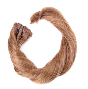 "Clip-in Remy Extensions 220G 20"" (6) Chestnut Brown"