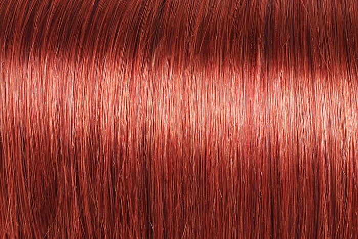 "U-tip Straight Remy Fusion Hair 100G 20"" (33) Red Auburn"