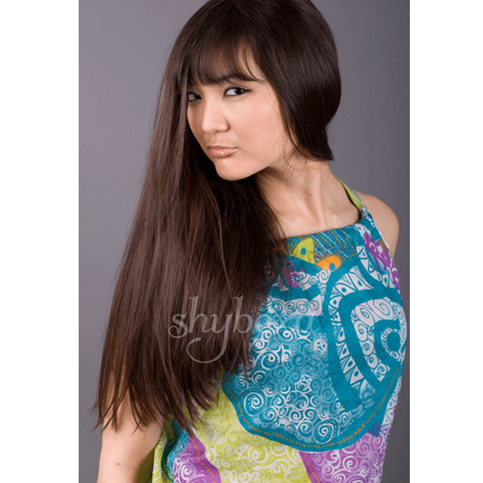 "U-tip Straight Remy Fusion Hair 100G 20"" (2) Dark Brown"