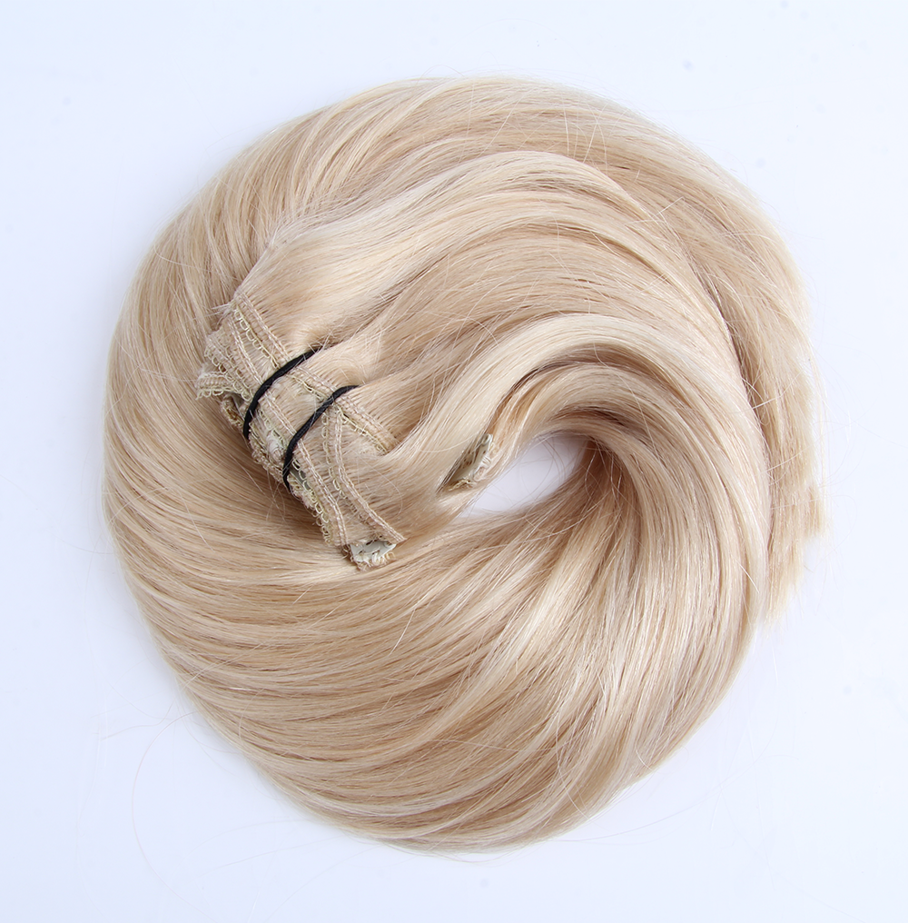 "Clip-in Remy Extensions 220G 20"" (60) Ash Blonde"