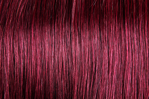 "U-tip Straight Remy Fusion Hair 100G 20"" (99) Red Wine"