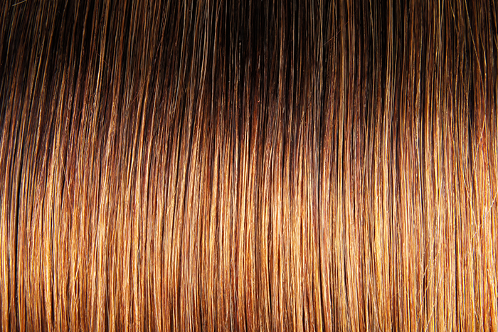 "Clip-in Remy Extensions 160G 20"" (2/6) Ombré Chestnut"