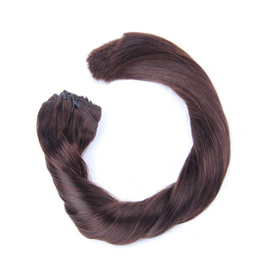 "Clip-in Remy Extensions 160G 20"" (1C) Mocha Brown"