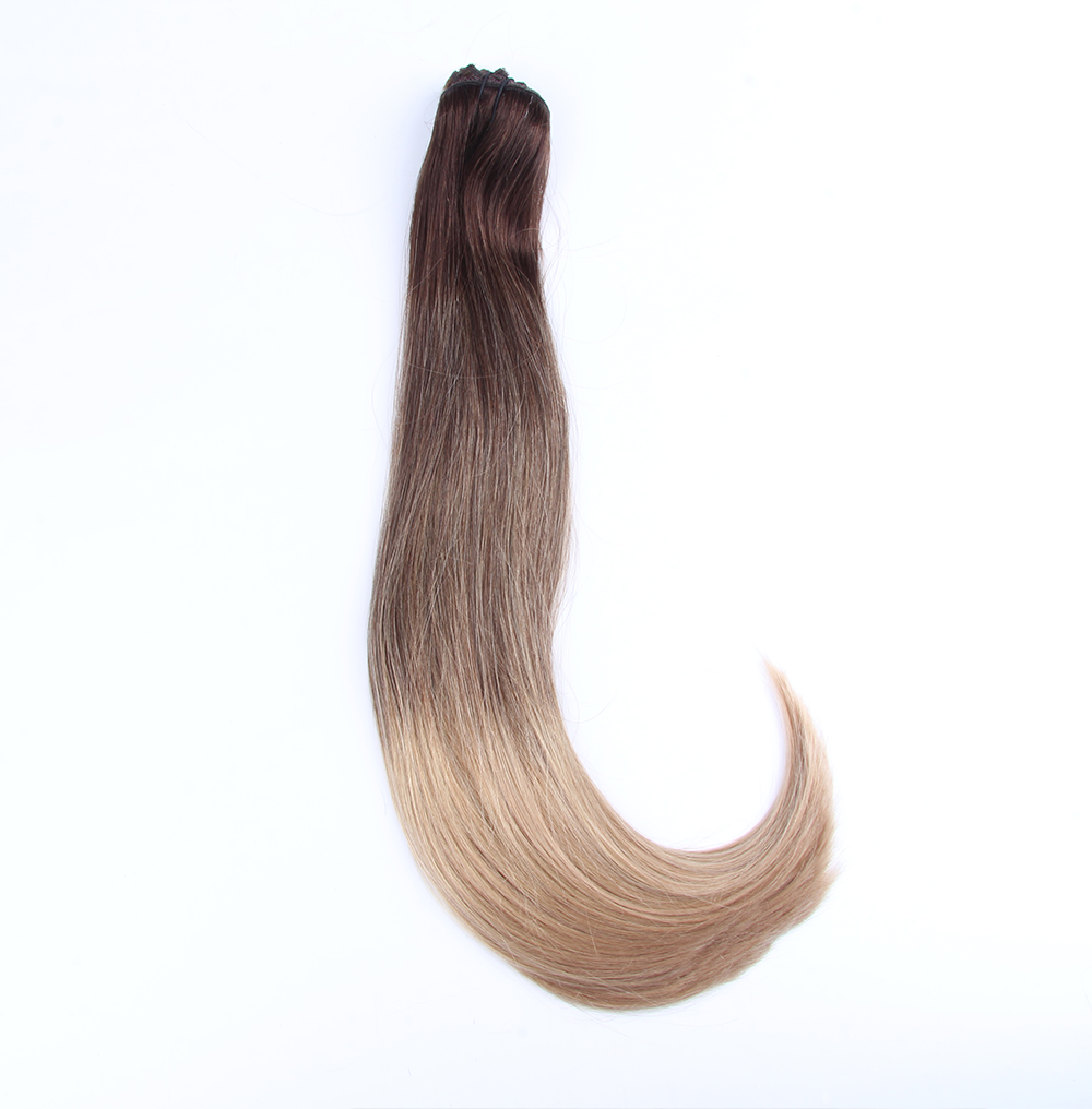 "Clip-in Remy Extensions 220G 20"" (2/18) Ombré Blonde"