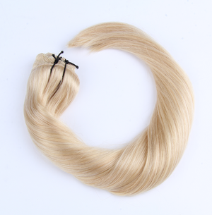 "Clip-in Remy Extensions 220G 20"" (613) Bleach Blonde"