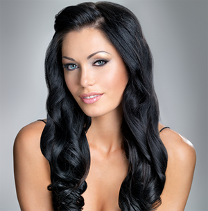 "Clip-in Remy Extensions 220G 20"" ( 1 ) Jet Black"