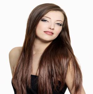 "Clip-in Remy Extensions 220G 20"" (4) Chocolate Brown"