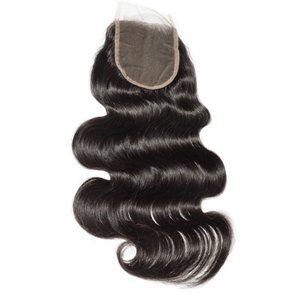Virgin Brazilian Body Waves Closure