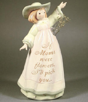Enesco Seeds of Love If Moms Were Flowers Figural Vase-0000590