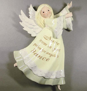Enesco Seeds of Love Angel Figural Wall Hanging Vase-0000593