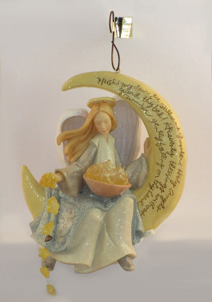 Foundations By Karen Hahn Lited Angel with Stars Figurine-114262