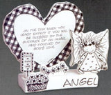 Marci Children of the Inner light Angel Sculpted Greeting Card-120167