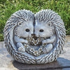 "7""H HEDGEHOG LOVE STATUE - 12336"