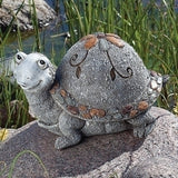 Roman - Pebble Turtle - Garden Statue - 12540